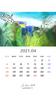 2021年04月カレンダー